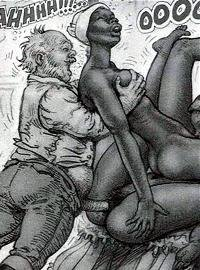 Interracial Sex Toon